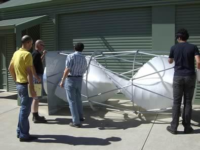 manufactured Savonius turbine